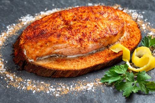 Cedar Plank Salmon Image