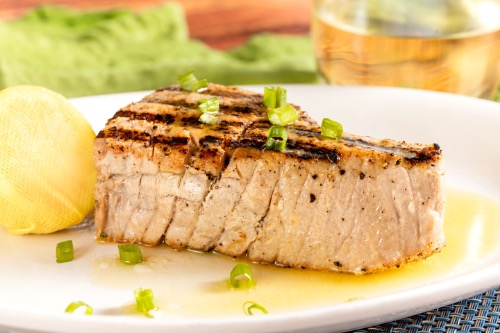 Yellow Fin Tuna Steak Image