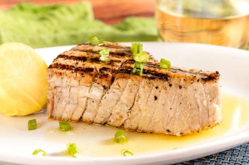 Yellow Fin Tuna Steak Image