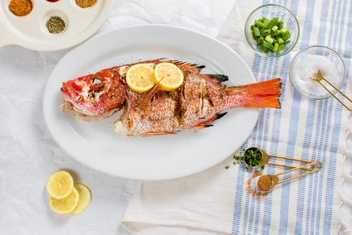 Whole Snapper Image