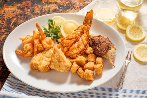 World's Finest Seafood Platter with South African Lobster Tail (5oz) Image