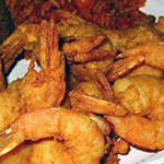 Jumbo Fried Gulf Shrimp