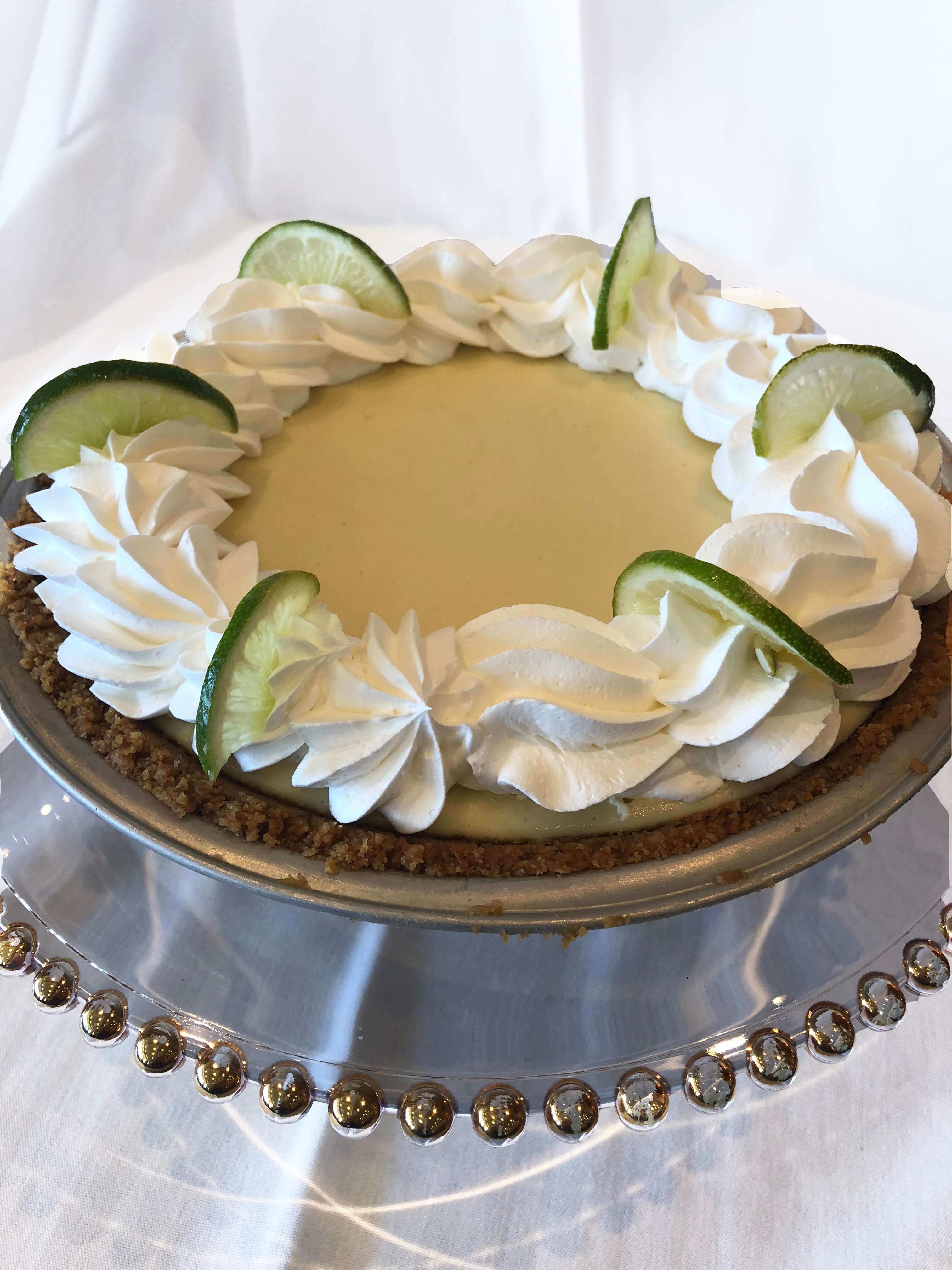 Whole Key Lime Pie Image