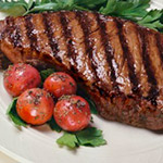 New York Cut Strip Sirloin Steak
