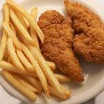 Child Fried Chicken Fingers Image