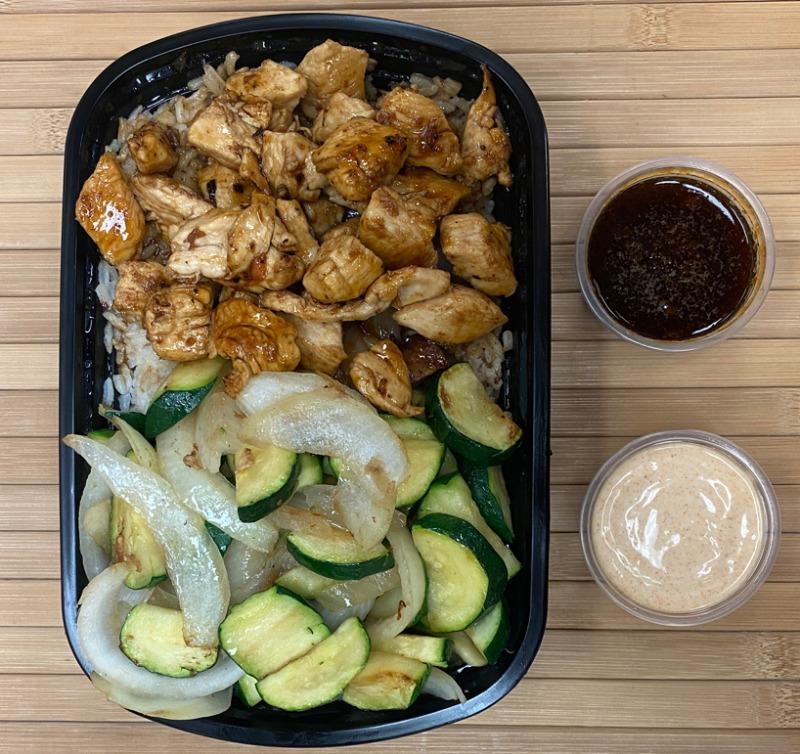 HIbachi Chicken Entree