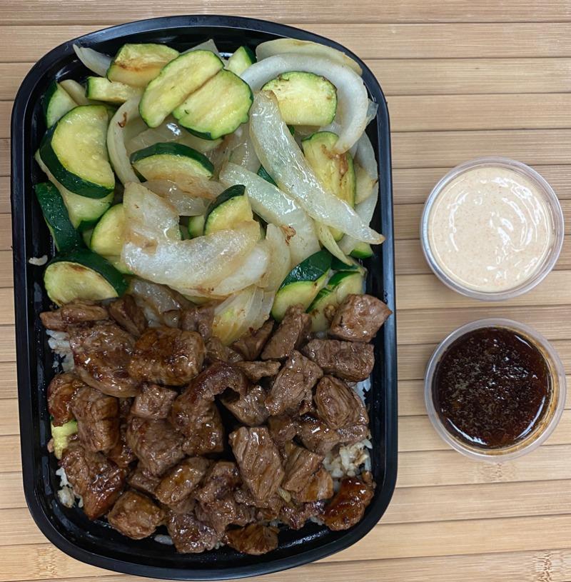 Hibachi Steak Entree Image