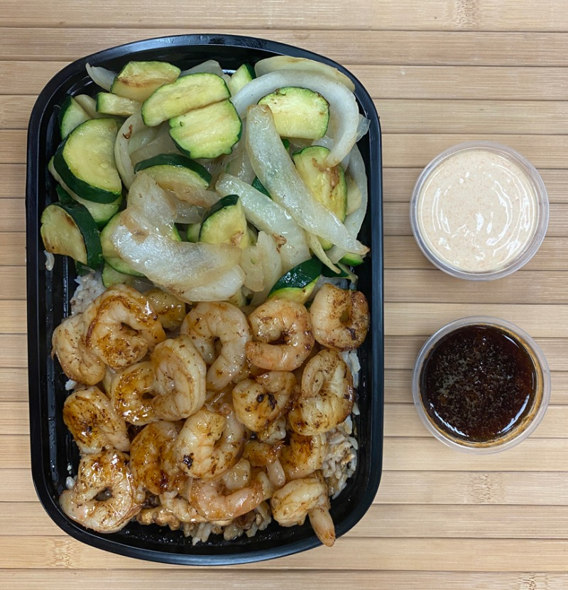 Hibachi Shrimp Entree Image