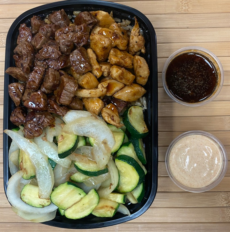 Hibachi Steak and Chicken Entree Image