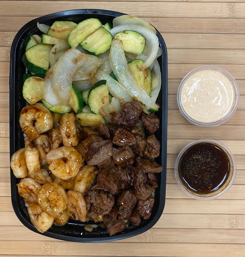 Hibachi Steak and Shrimp Entree Image