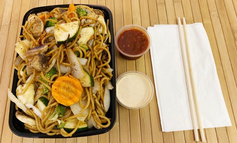 Vegetables w/ Noodles Entree Image