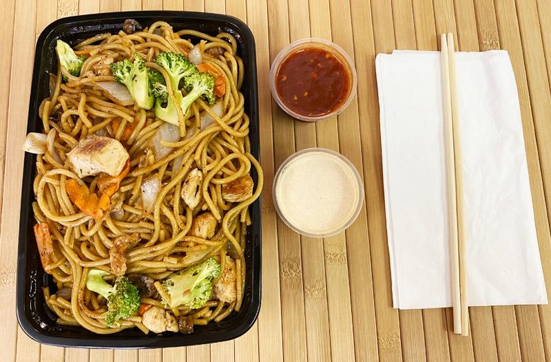 Chicken w/ Noodles Entree