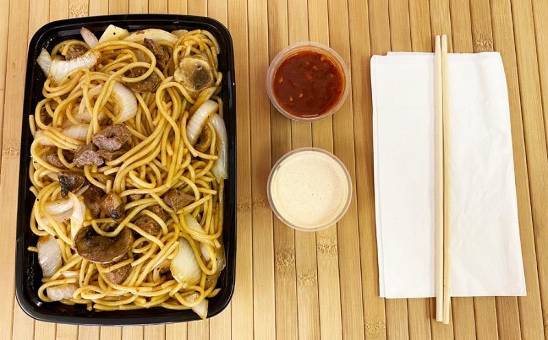 Steak w/ Noodles Entree Image