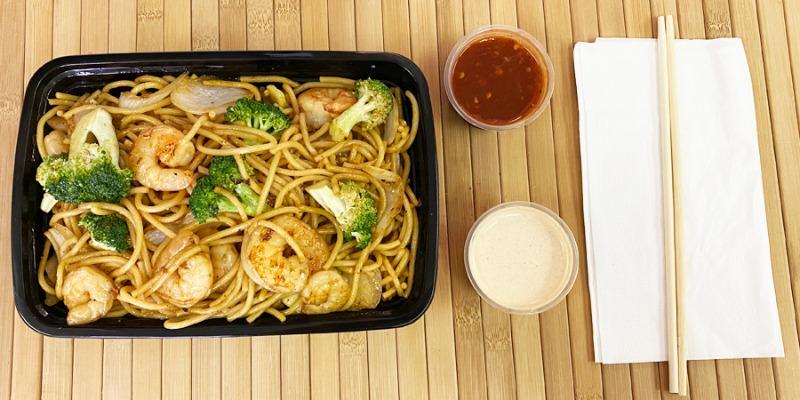 Shrimp w/ Noodles Entree Image