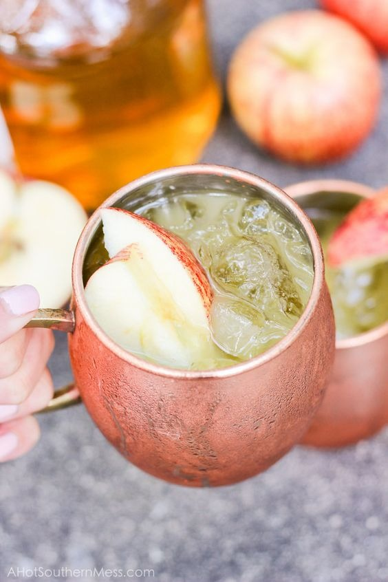 Iced Apple CIder