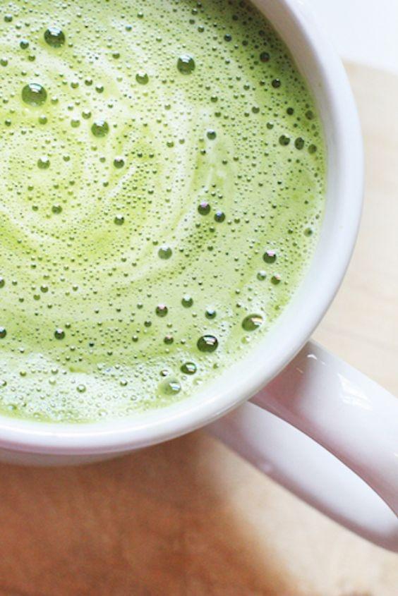 Green Matcha Latte Image