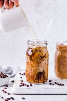 Iced Latte Jar
