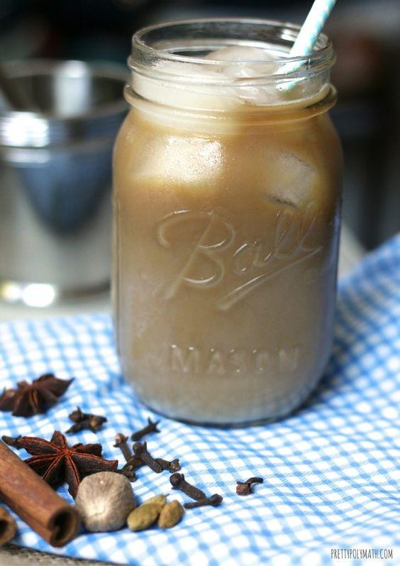 Iced Dirty Chai Jar Image
