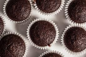 Vegan Double Chocolate Muffins Image