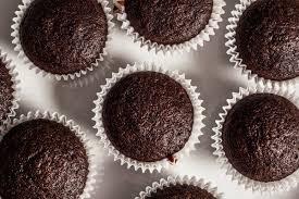Vegan Double Chocolate Muffins Image