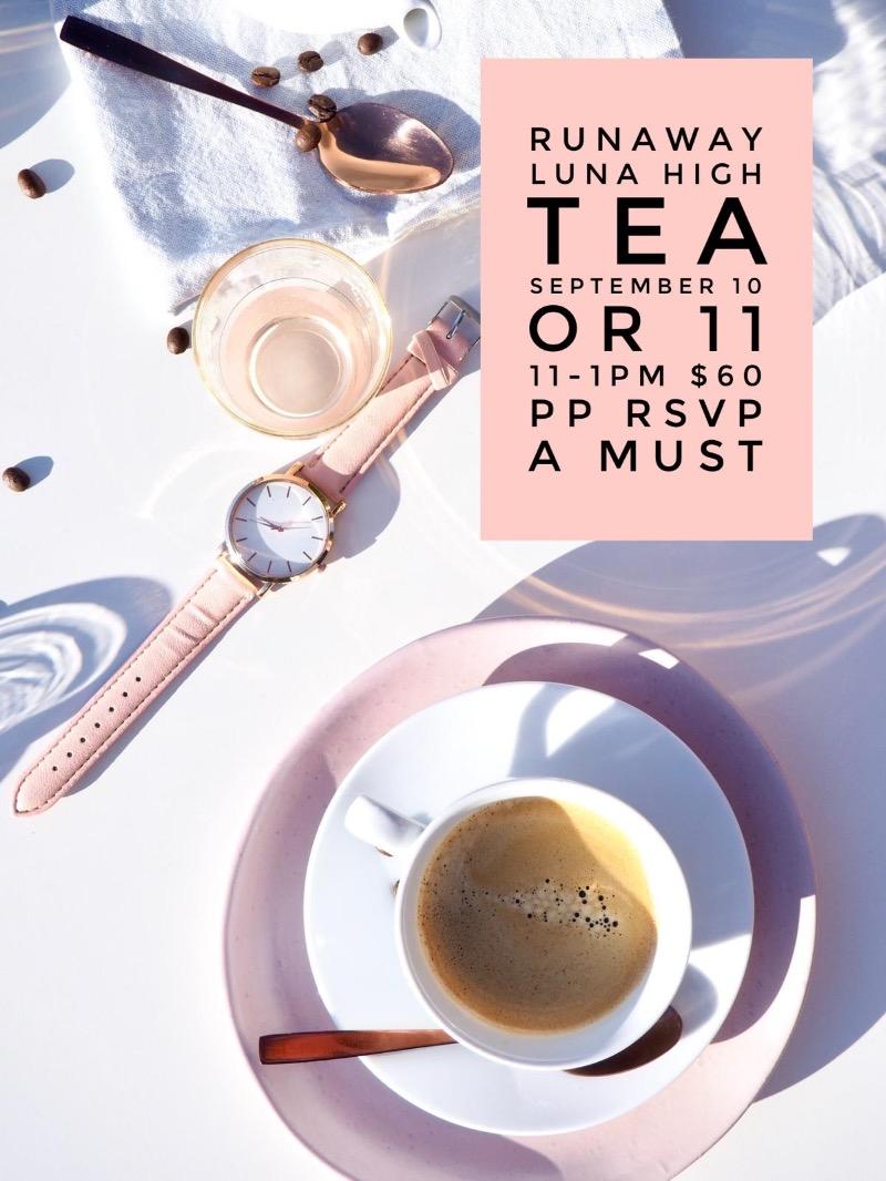 LUNA'S HIGH TEA SERVICE