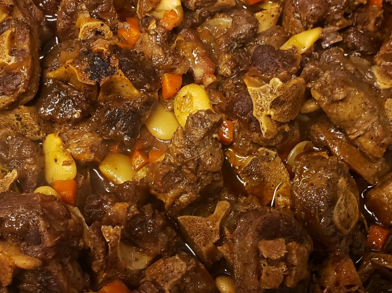 Oxtail Meal Image