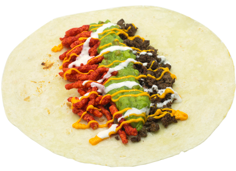 Flammin Hot Cheeto Burrito! Image