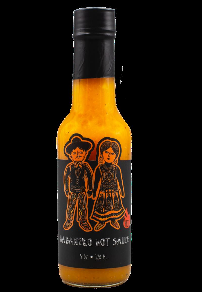 Habanero hot sauce Image