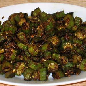 Hyderabadi Bhindi Fry
