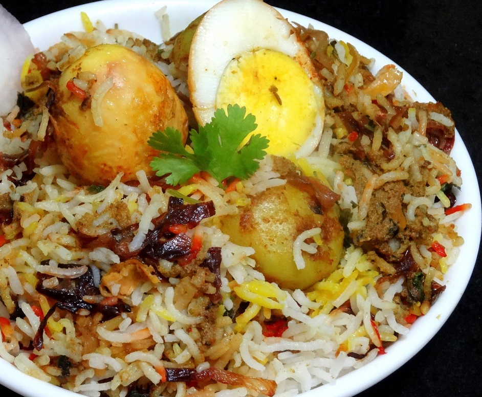 Egg Dum Biryani Image