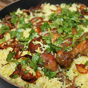 Chicken Wings Biryani Image