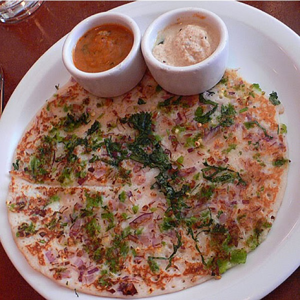 Onion Chilli Dosa Image
