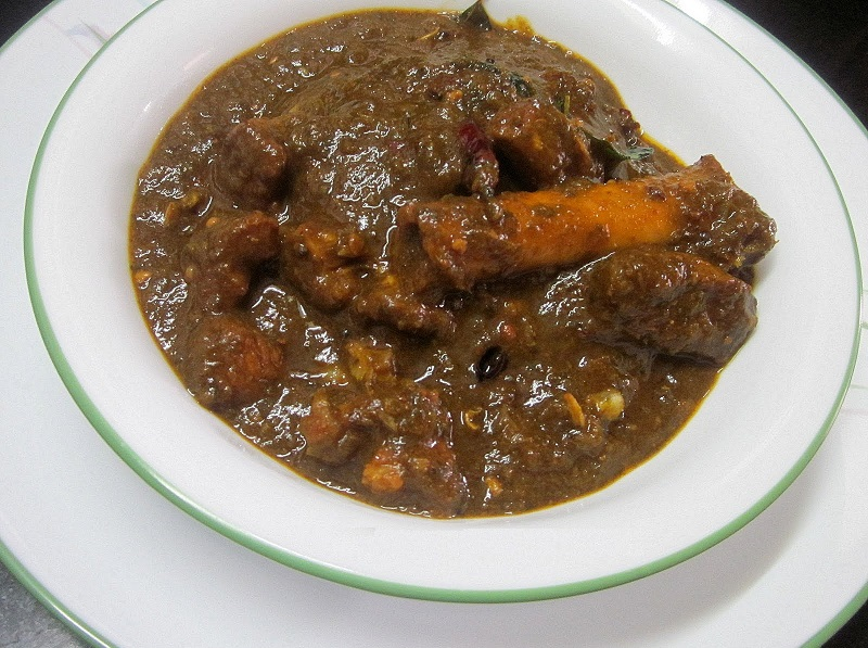Gongura Goat Curry Image