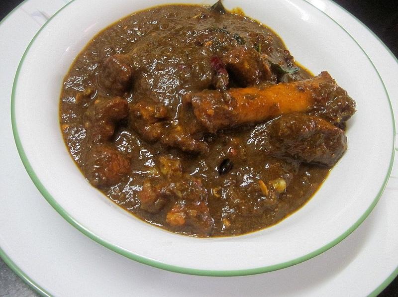 Gongura Goat Curry Image