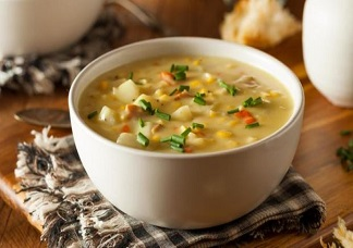 Sweet Corn Soup Veg Image