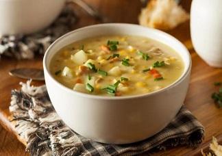Sweet Corn Soup Veg Image