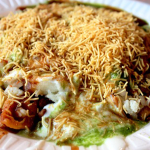 Delhi Aloo Papri Chat Image