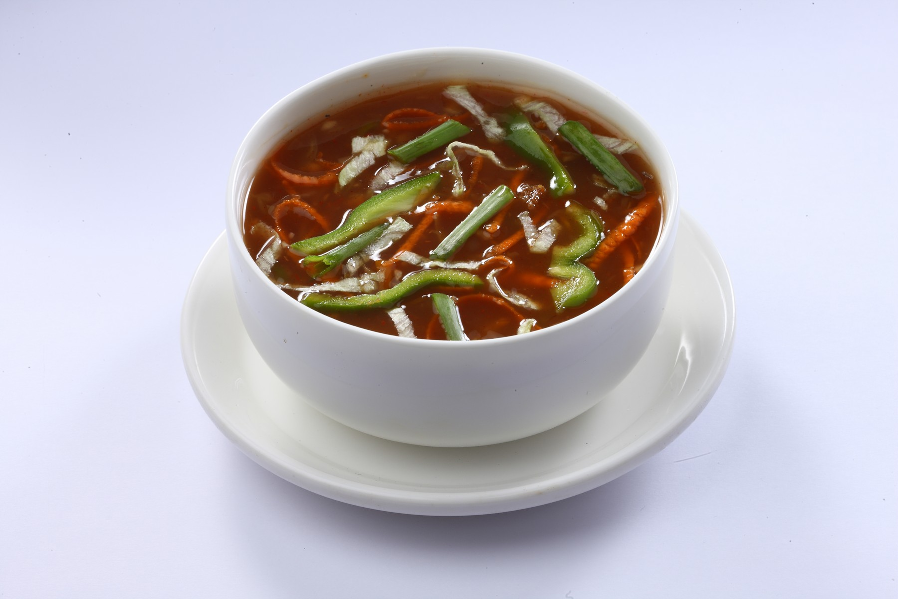 Hot and Sour Soup Veg Image