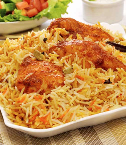 Supreme Chicken Dum Biryani