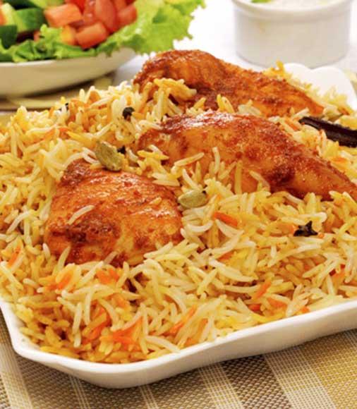 Supreme Chicken Dum Biryani Image