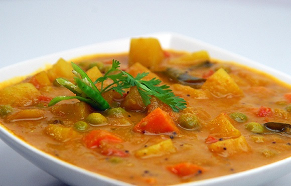 Mixed Vegetable Curry Image