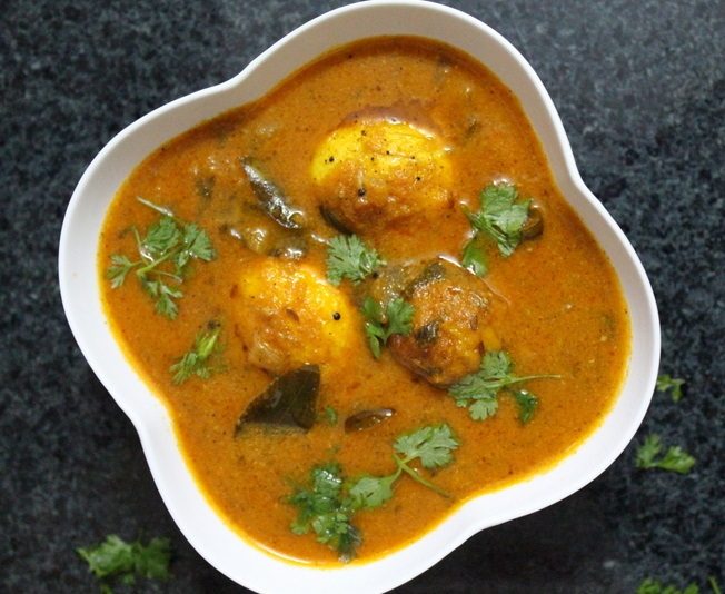 South Indian Egg Curry Image