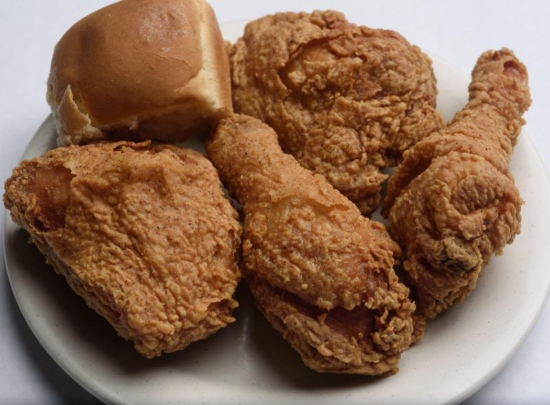 4 Pieces Dark Meat Fried Chicken Image