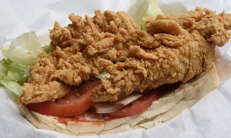 52. Fried Chicken Po-Boy