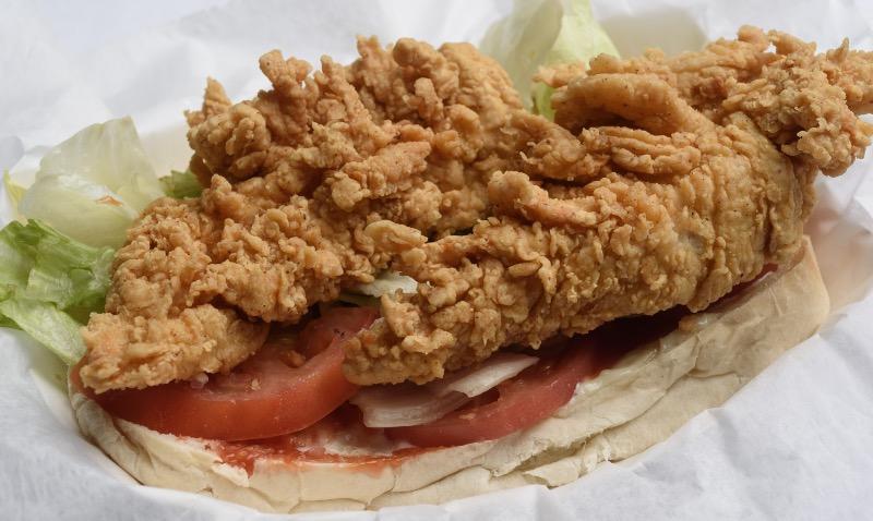52. Fried Chicken Po-Boy Image