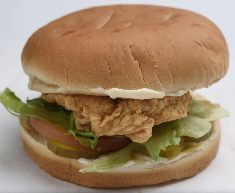44. Fried Pork Chop Sandwich