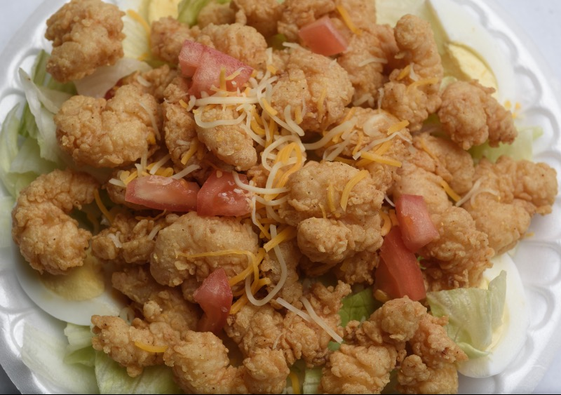 71. Fried Shrimp Salad Image