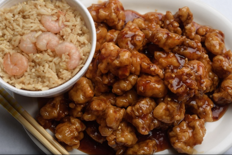 93. Large Order General Tso's Chicken