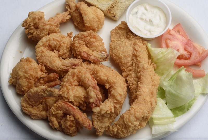 25. Large Fried Seafood Platter Image