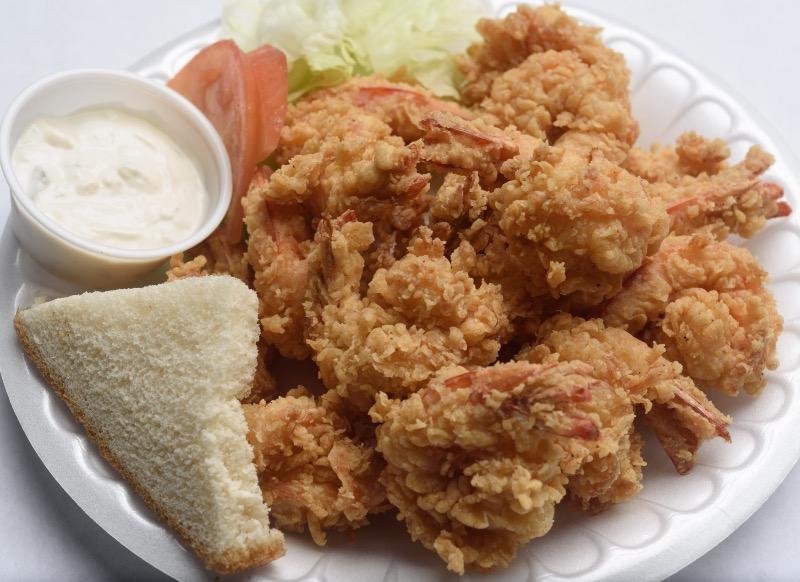23. Large Fried Shrimp Platter